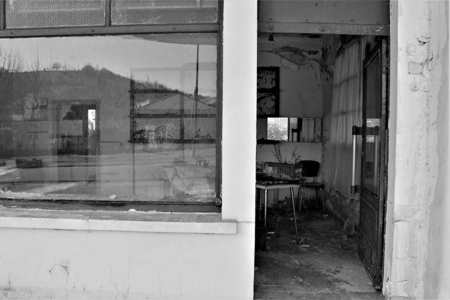 Photographie noir&blanc- Urbex