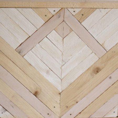 marqueterie moderne en bois