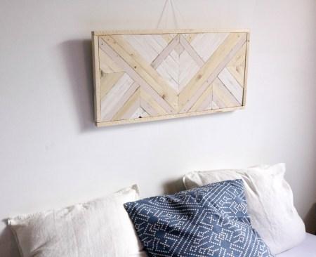 tableau assemblage bois