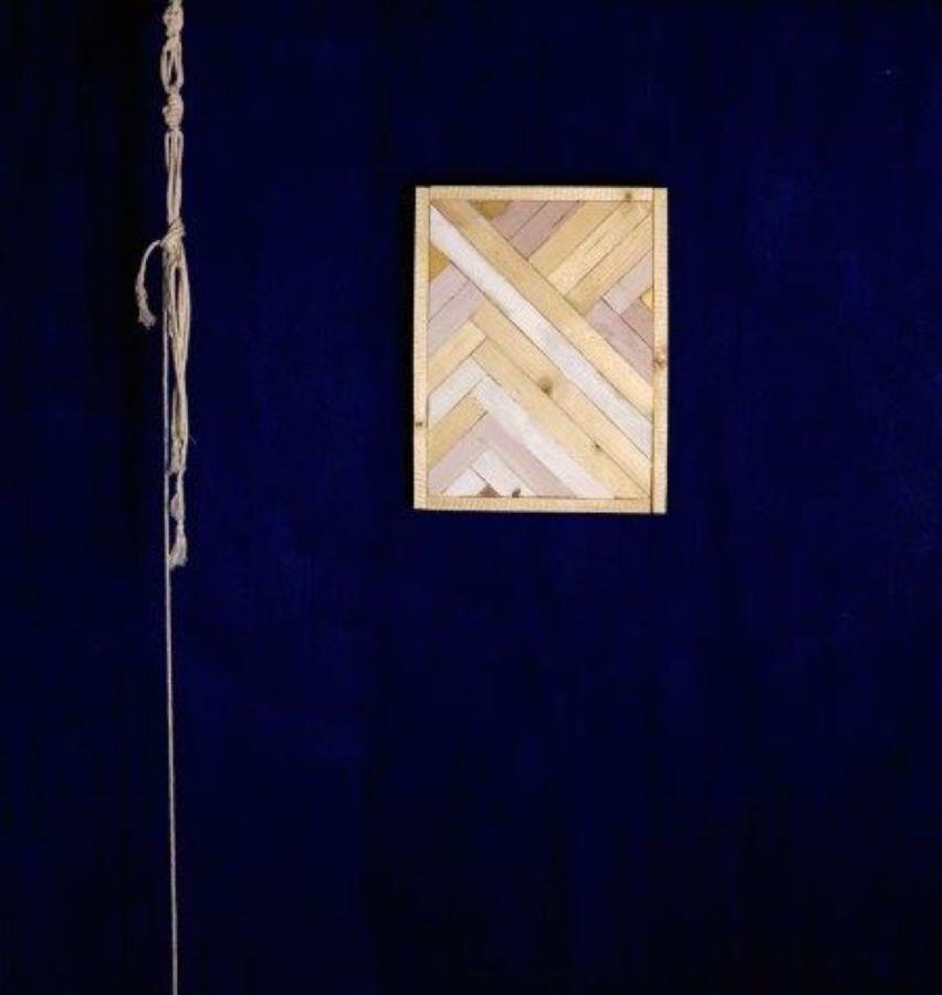 décoration en bois marqueterie